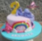 _itsjojosiwa Inspired Cake 🌈_•_To order