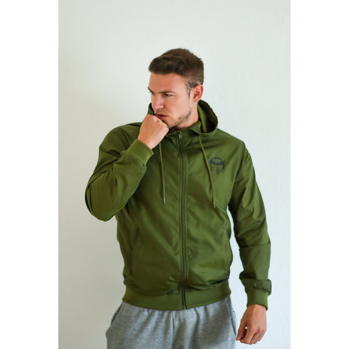 Windbreaker military green