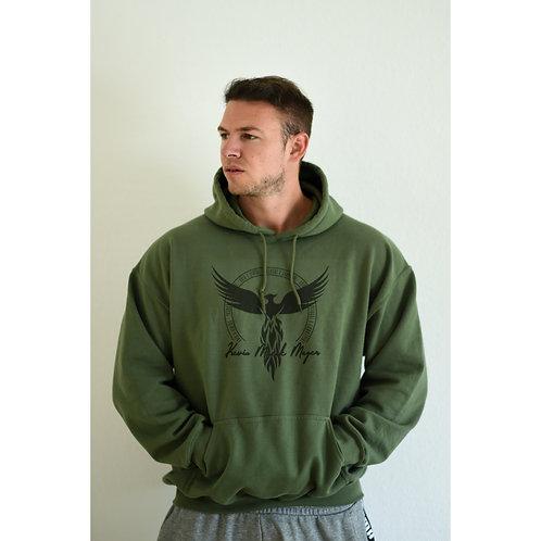 "Hoodie ""military green"""