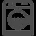 ドラム式洗濯機のイラストアイコン素材 4.png