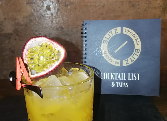 TEQUILA GIMLET PASSION FRUIT