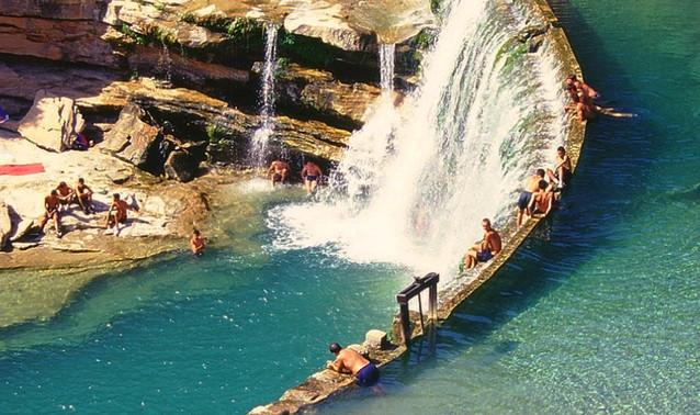 Barrage de Bierge Canyon de la Peonera_e