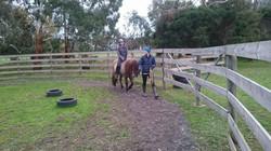 first ride on Falki