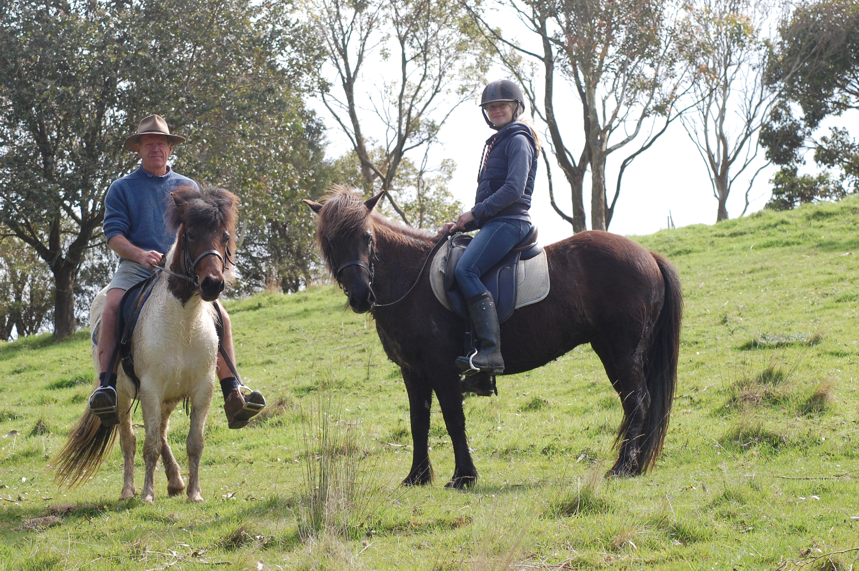trail ride at Camlee in South Gippsland