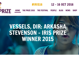 VESSELS wins the 2015 Iris Prize!