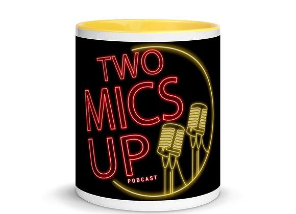 11 oz Two Mics Up Mug