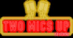 Two Mics Up Logo