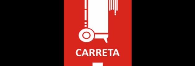 Placa de Sinalização de Extintor Carreta