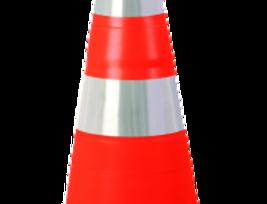 Cone de PVC Flexível