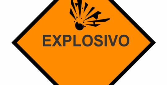copy of Placa Simbologia de Risco Explosivo