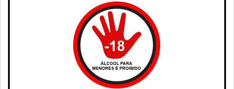Placa de Sinalização Proibida a Venda de Bebida para Menores