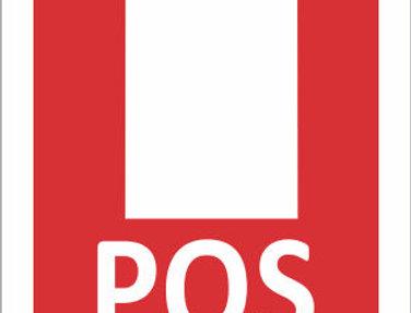 Placa de Sinalização de Extintor Pó Químico PQS