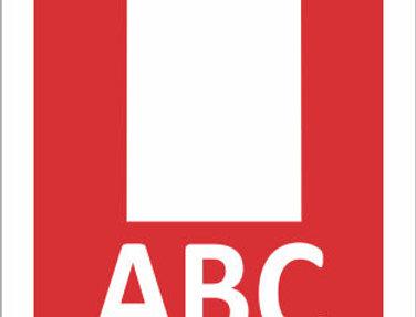 Placas de Sinalização para Extintores Pó ABC