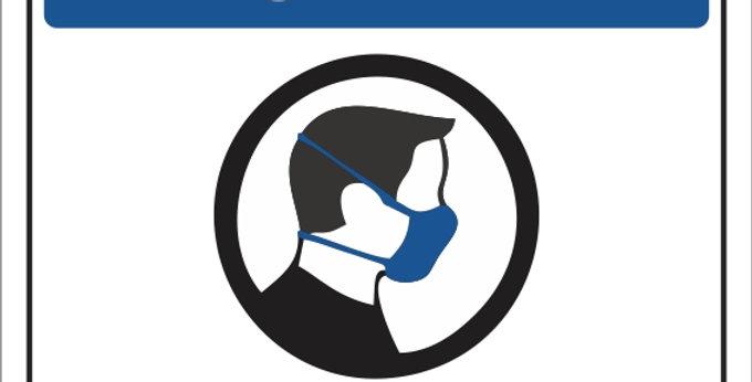 Placa Higiene Obrigatório o Uso de Máscara