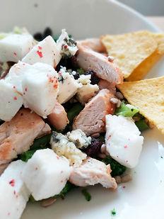 Kana-vuohenjuusto salaatti