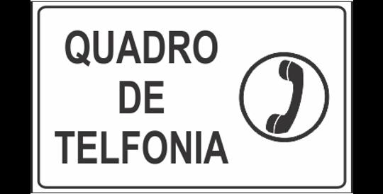 Placa Quadro de Telefonia