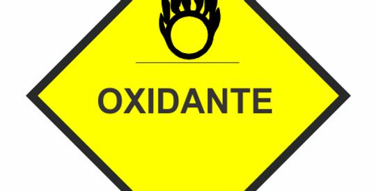 Placa Simbologia de Risco Oxidante