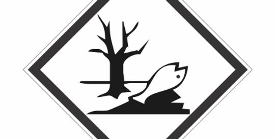 Placa Simbologia de Risco Nocivo
