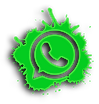 WhatsApp-logo-gray-paint-splash-social-m
