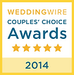 WeddingWire 2014 Couples Choice DJ Award