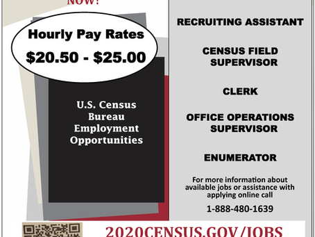 U. S. Census Bureau Employment Opportunities
