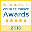 WeddingWire 2016 Couples Choice DJ Award