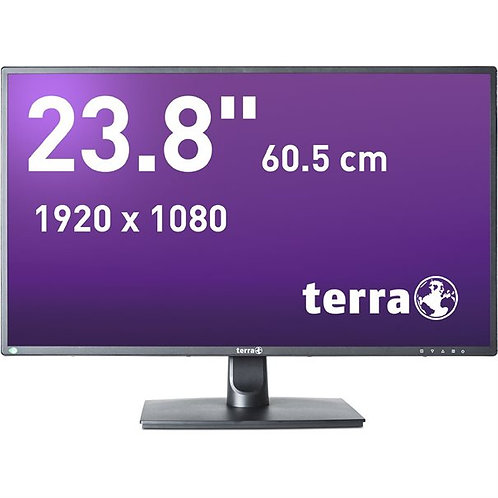TERRA LED 2456W schwarz DP, HDMI GREENLINE PLUS