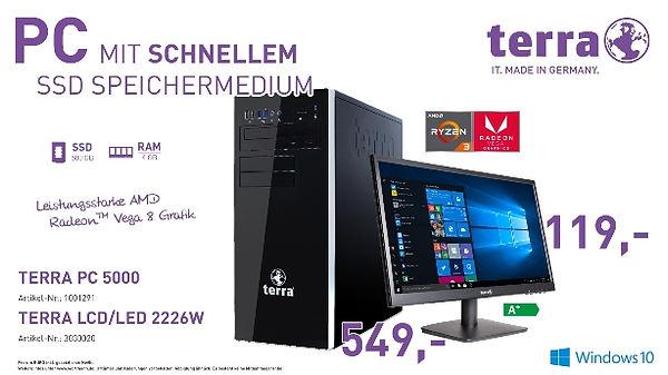 TERRA PC 5000 und TERRA LCD/LED 2226W