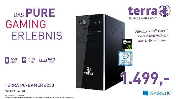 TERRA PC GAMER 6250