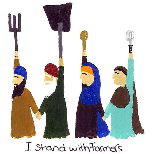 #IStandWithFarmers Poster