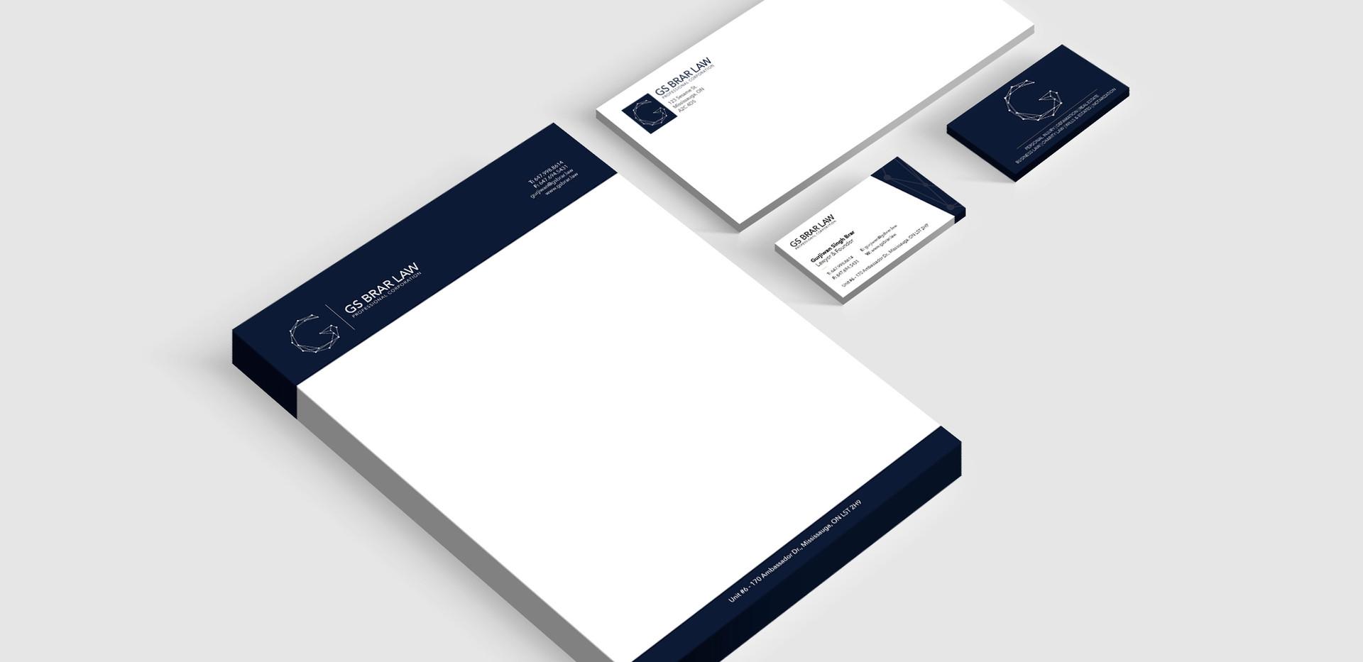 GS Brar Law - Brand Package