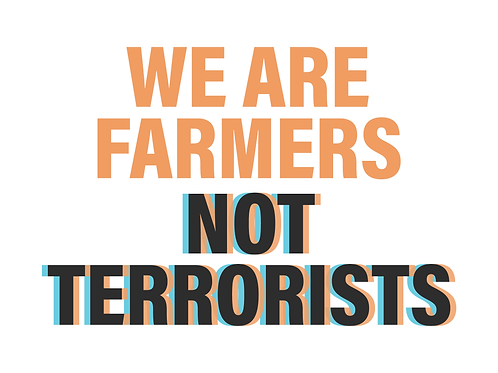 We are Farmers Poster