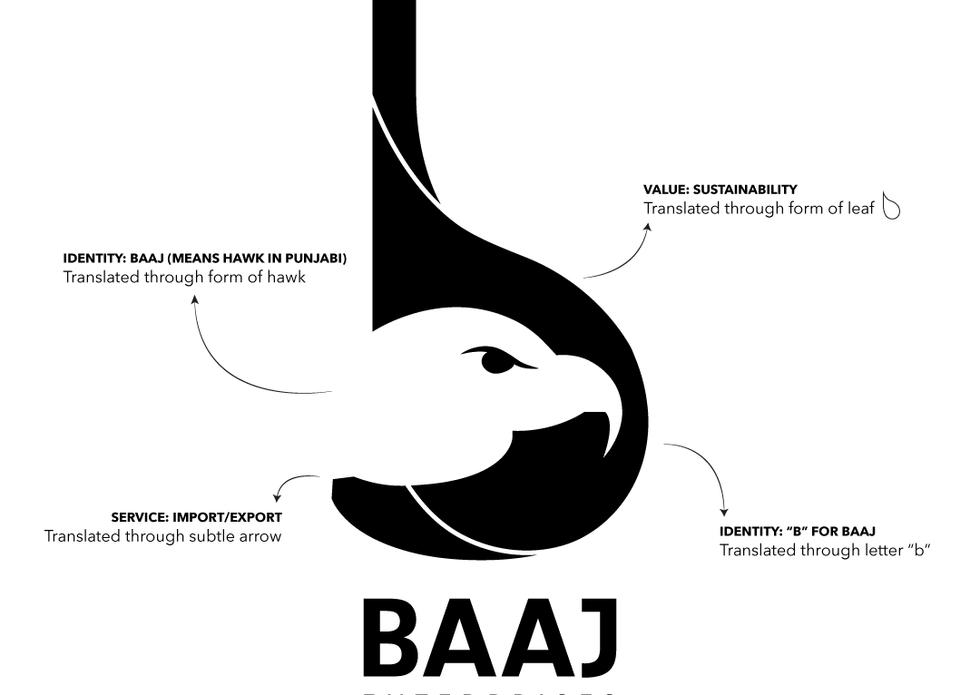 Baaj Enterprises Logo Breakdown