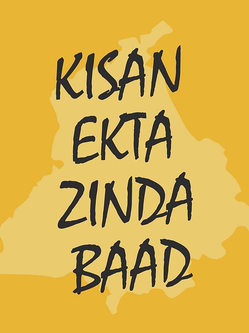 Kisan Ekta Zindabaad Poster