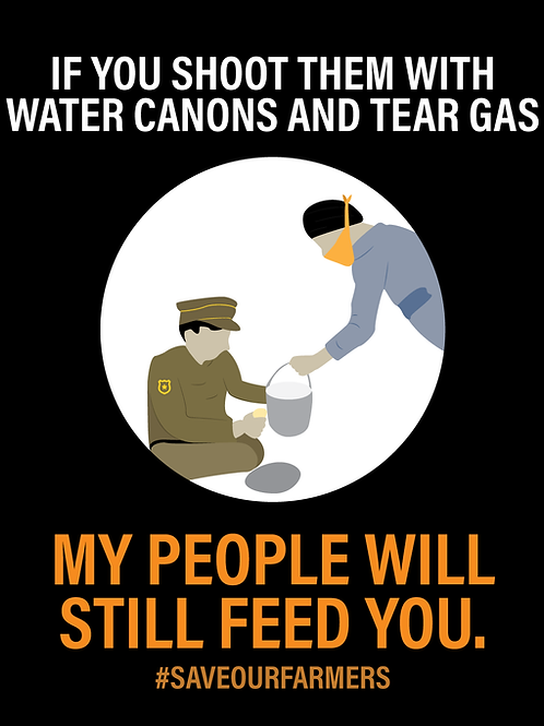My People Feed You Poster