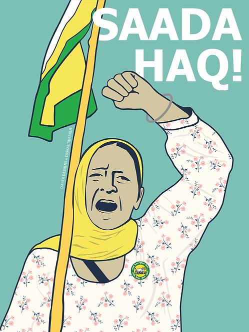 Sada Haq | Poster & Wallpapers