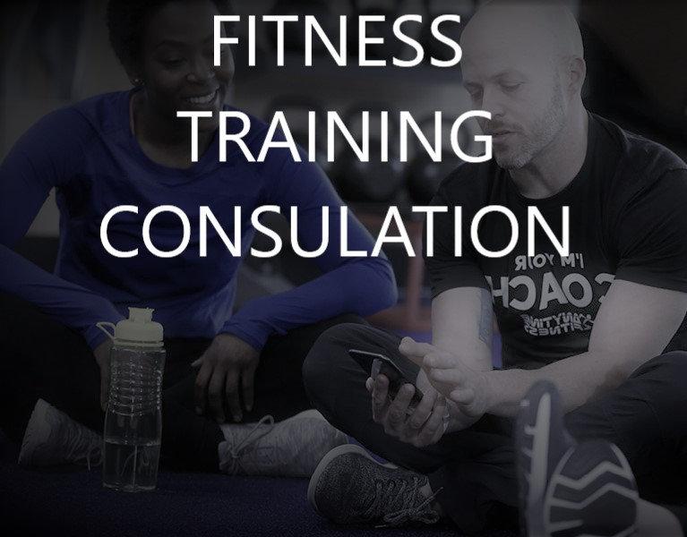 1 on 1 Fitness Consultation