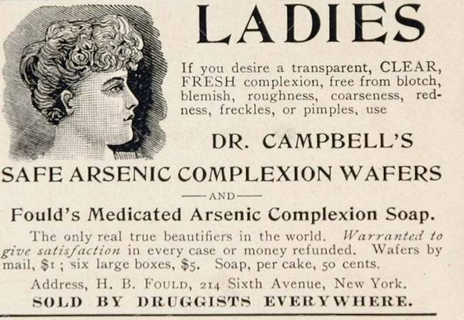 Arsenic Complexion Wafers. source: https://i.kinja-img.com/