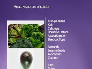 Vitamins and Minerals - Calcium