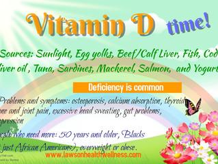 Vitamins and Minerals - Vitamin D