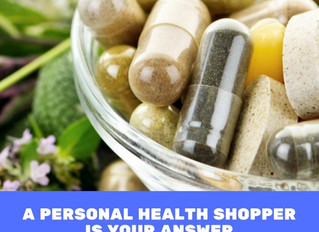 Your Personal Health Shopper is Here
