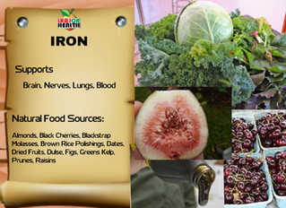 Support Your Brain with Iron