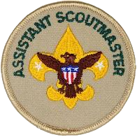 Welcome to our New Assistant Scoutmaster!