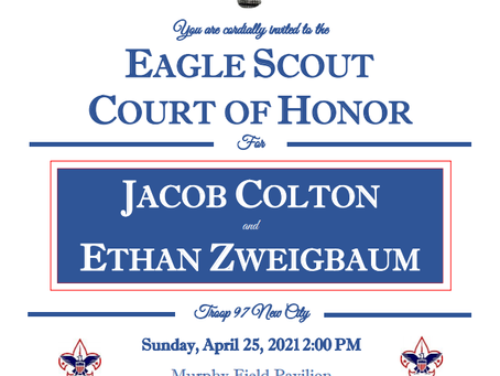 Jacob Colton and Ethan Zweigbaum ECOH - April 25th