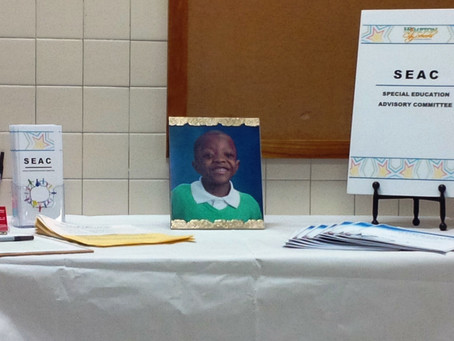 SEAC at Division-wide Family Resource Fair