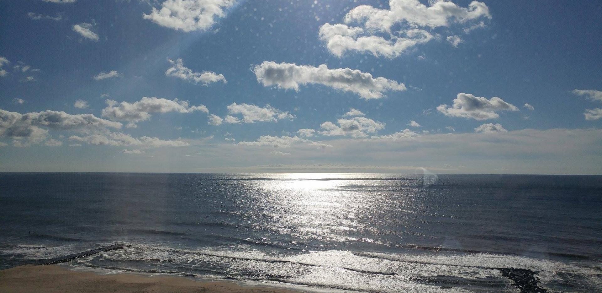 Jersey Shore and Atlantic Ocean
