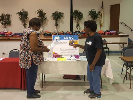 SEAC at 6th Annual S.E.E.D.S. Family & Community Resource Fair