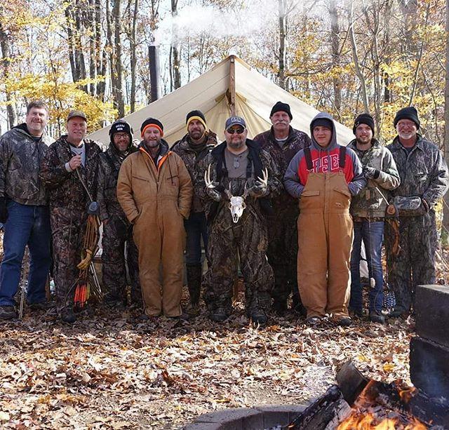 Deer camp 2k18 was a success!!! #timberh