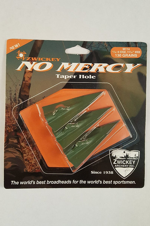 Zwickey No Mercy 4 Blade Broadheads