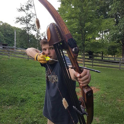 Get out and shoot your bow today! Yow wo